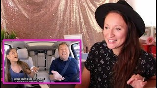 Vocal Coach REACTS to ARIANA GRANDE-CARPOOL KARAOKE