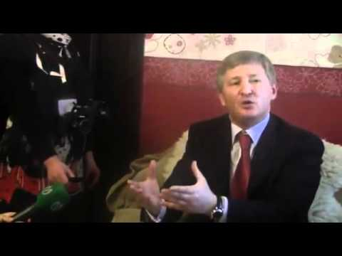 Rinat Akhmetov & Igor Krutoy visiting foster home on Saint Nicholas Day, 19 Dec 2011