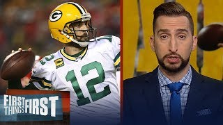 Packers looked like a Super Bowl team Sunday, Chiefs didn't — Nick Wright | NFL | FIRST THINGS FIRST