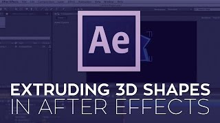 Extruding 3D Shapes in After Effects CS6