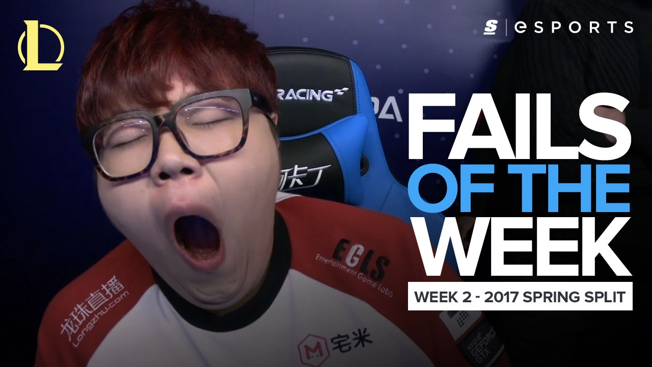Best LoL Fails from Week 2 of the 2017 Spring Split