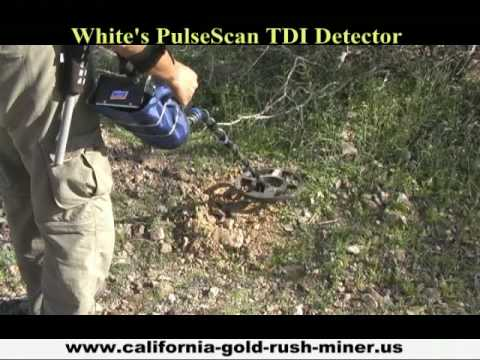 Treasure Vision » White's GMT Metal Detector