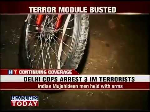Police arrest 3 suspected IM terrorists-2
