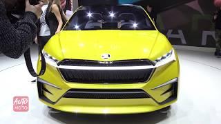 Skoda Vision iV Concept - Exterior Walkaround - 2019 Geneva Motor Show