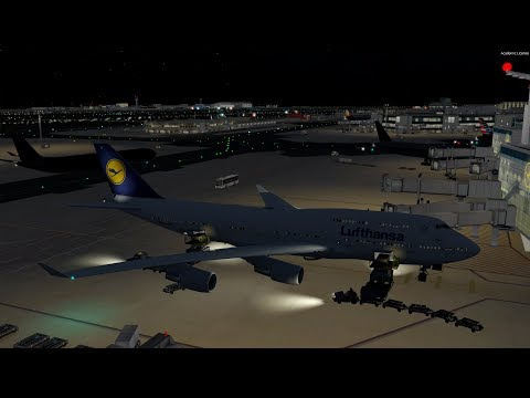 [P3D v4] Accidentally Pressing TOGA on Final Approach..... | Lufthansa 747 at EDDF VATSIM Event