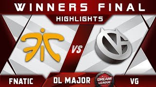 Fnatic vs VG [EPIC] Winners Final Stockholm Major DreamLeague Highlights 2019 Dota 2