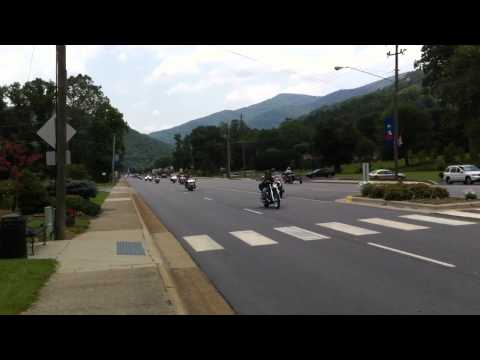 Benefit ride in Maggie Valley, NC