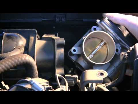 How to clean the throttle body on a 2008 Nissan Altima
