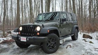 2016 Jeep Wrangler Willys Review