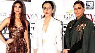 Neha Dhupia, Taapsee Pannu & Vaani Kapoor Look Super Stylish At Femina Stylista West 2019