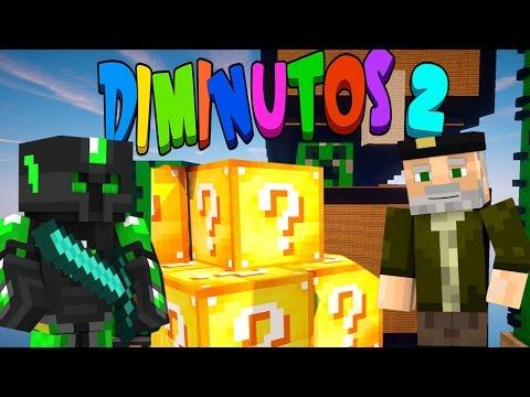 Diminutos Mapa!! C  Staxx | Lucky Blocks Epic Race video
