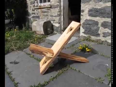 How to make a Celtic Viking Stargazer chair