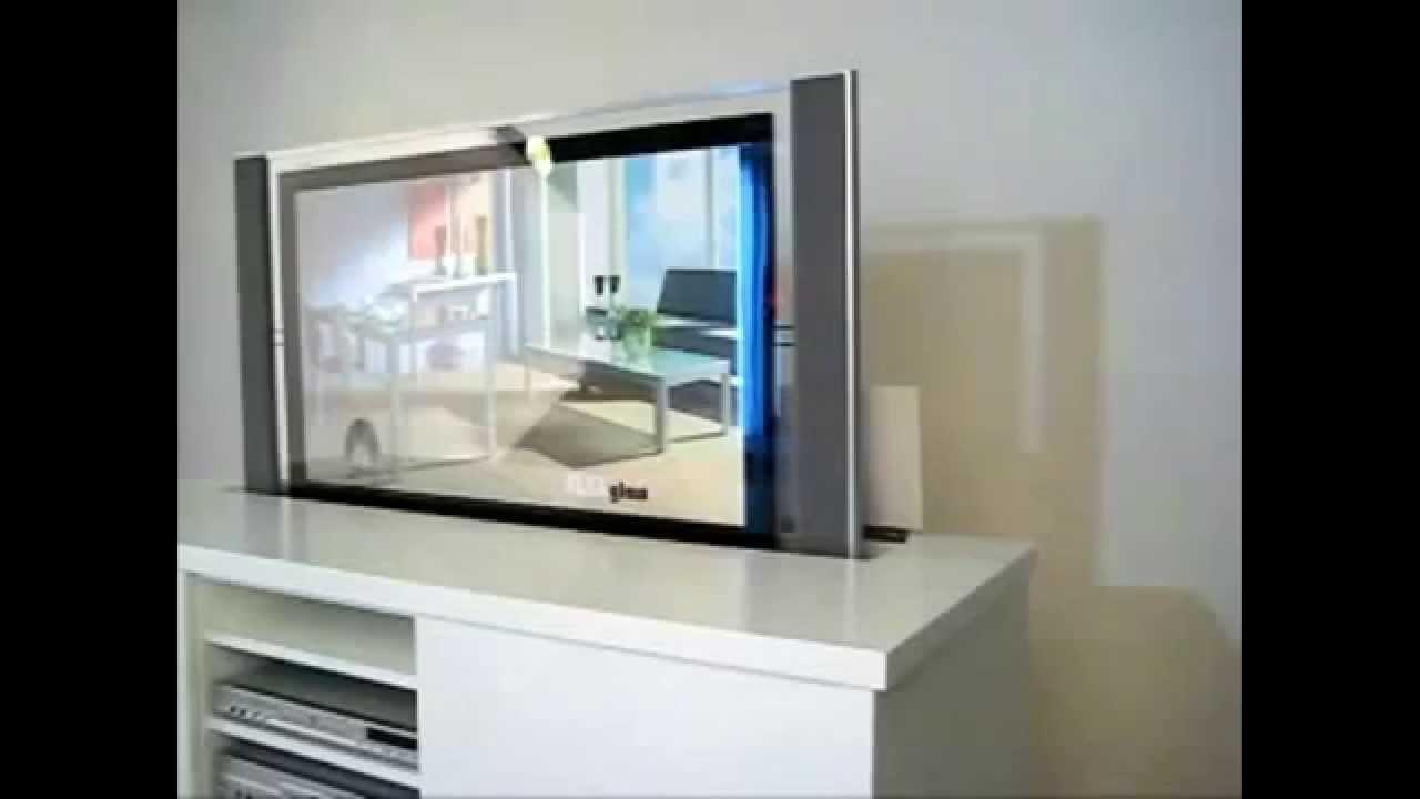 tv lift meubelen op maat in ieder gewenste r a l kleur youtube. Black Bedroom Furniture Sets. Home Design Ideas