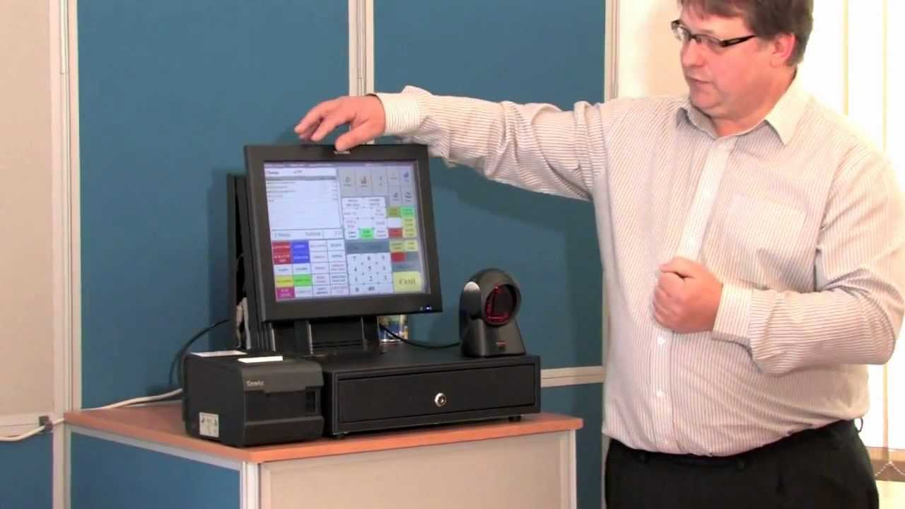 Online Cash Registers Touch Screen Epos System