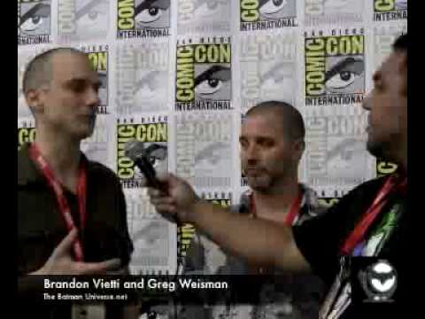 SDCC 2010-Young Justice-Vietti & Weisman Interview