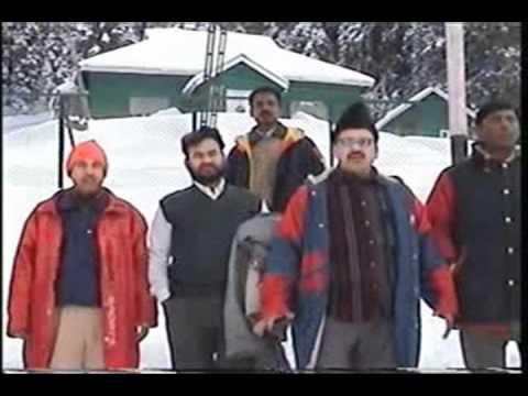 Amim Jafri in Kashmir... dil kahe ruk ja re ruk ja yahin par...