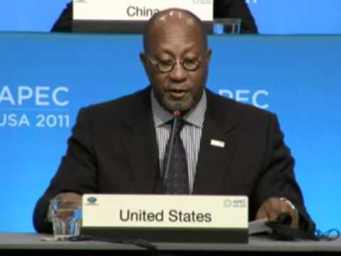 US Trade Representative Ambassador Ron Kirk opens 2011 APEC Ministerial Meeting Press Conference
