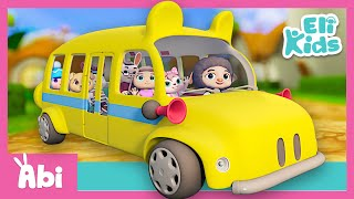 Wheels on the bus | Best Nursery Rhymes Collection | Eli Kids