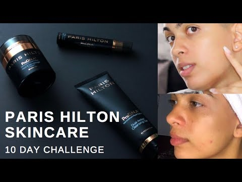 I USED ONLY PARIS HILTONS SKINCARE FOR 10 DAYS STRAIGHT