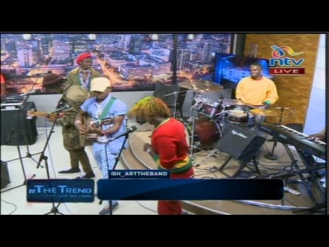 Masheesha - H_art the Band & Bensoul (Live on #theTrend)