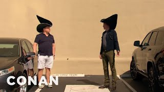 Conan & Andy Were Inspired By Billy Porter's Emmys Look - CONAN on TBS