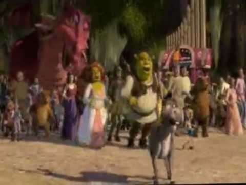Shrek Party Song HD 3D (Available inside the video)