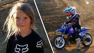 Cutest 5 Year Old Girl Go Back Riding After Crash