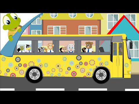 The Wheels On The Bus Go Round And Round video