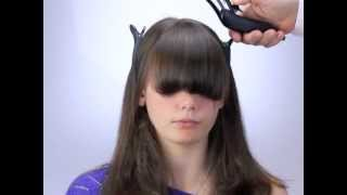 How to cut bangs and fringes the new way with Freestyla & Wahl Clippers