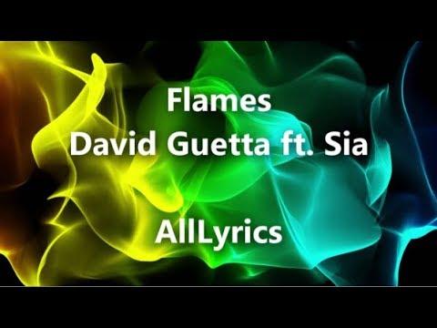 Flames david guetta