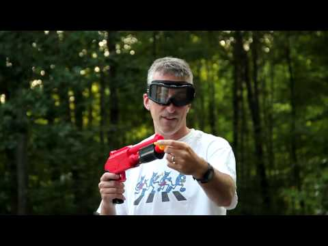 Review: JT Splatmaster z200 Shotgun.  Mini Paintball Blaster. NO CO2 Needed
