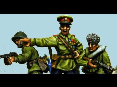 Painting Bolt Action Soviets - World War II Russians