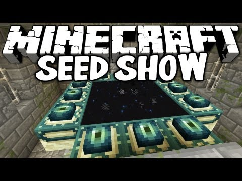 MINECRAFT SEEDS: Stronghold, Mob Spawner and Village! (1.2.5 Seed Showcase)