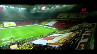 Galatasaray Fans | Choreography in derby | 131.76 dB, guinness world record [HD]