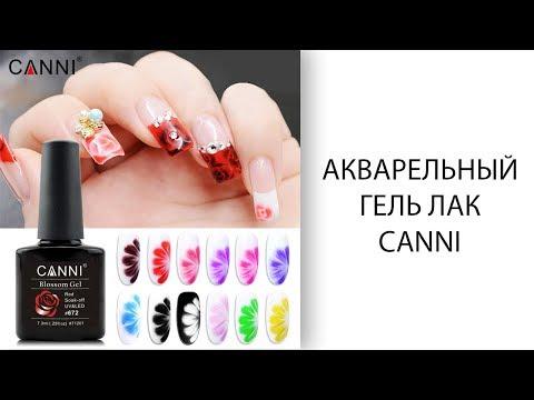 Canni Акварельный гель-лак | Blossom gel Canni
