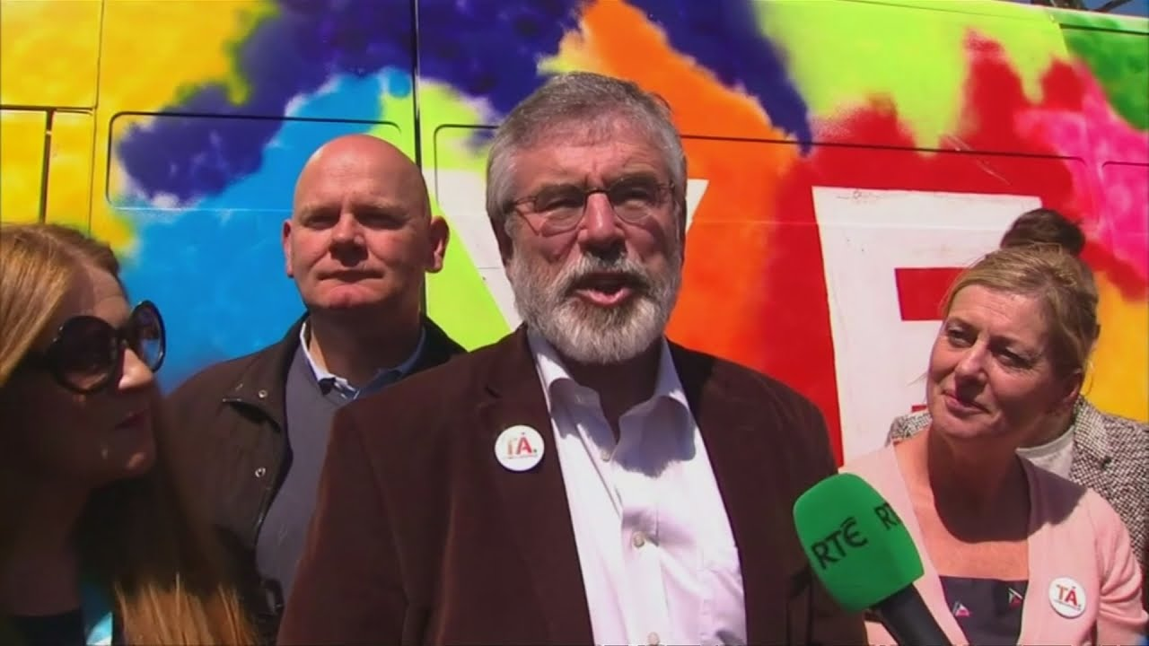 Gerry Adams: this is a huge day for equality