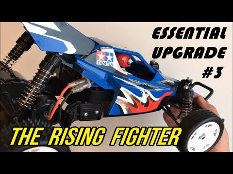 Tamiya: The Rise of THE RISING FIGHTER Step by Step Upgrade #3: 19T Steel Pinion!