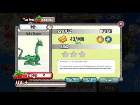 Hydra Dragon In Dragon City Review Eggs Level Up