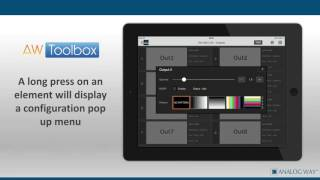 AW Toolbox: Mobile App for the LiveCore series