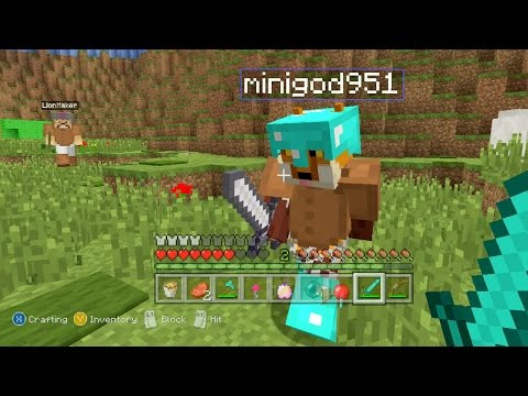 Minecraft Xbox - Mario Universe Hunger Games video