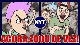 Irmãos Neto são ridicularizados em animação e Nando diz que nem sabia que o Felipe Neto era macho