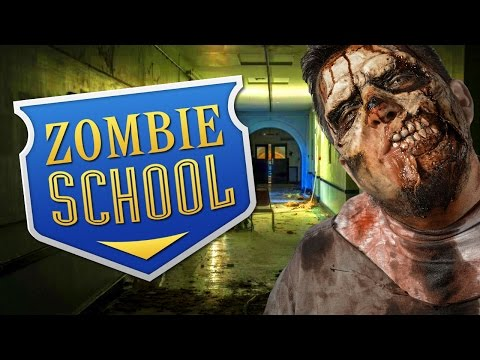 ZOMBIE SCHOOL ★ Call of Duty Zombies Mod (Zombie Games)
