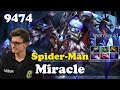 Miracle Spider-Man Broodmother   9474 MMR Dota 2