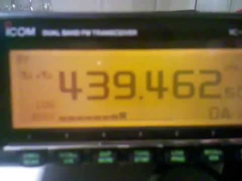 Icom 2820 erster Soundtest und erste Einstellungen (German)