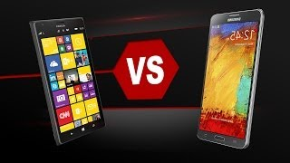 Galaxy Note 3 Vs. Lumia 1520