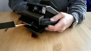 Modify Your Polaroid Spectra to use Sheet Film
