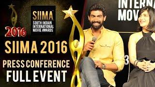 SIIMA 2016 Press Conference Full Event - Singapore || Rana Daggubati, Shruti Haasan & Anirudh