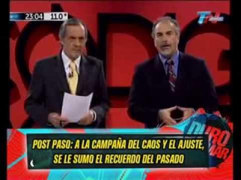 POST PASO - LA APARICION DE CHICHE DUHALDE - 16-08-13
