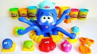 Play-Doh Octopus Ocean Playset Unboxing