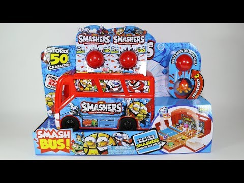 Smash Bus Basketball - Zuru SMASHERS Sports Series